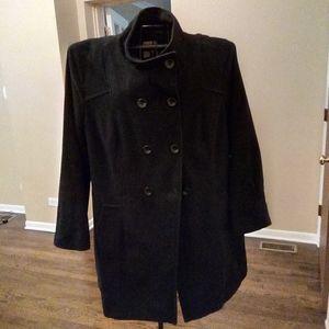 Black Mid-Length Coat